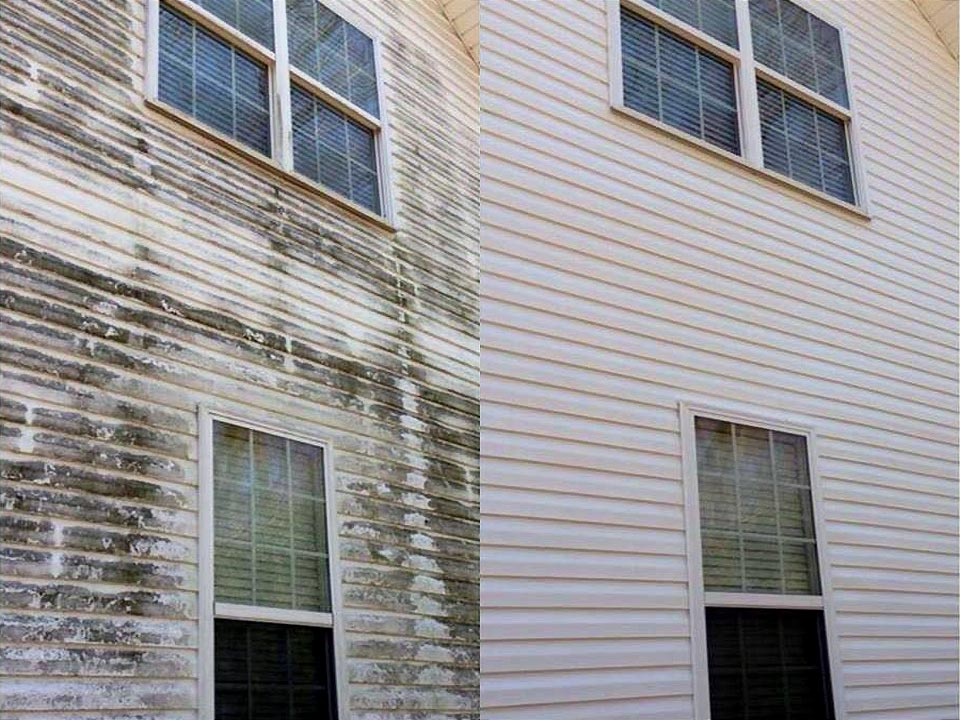 Home Siding Soft Washing in Louisville KY