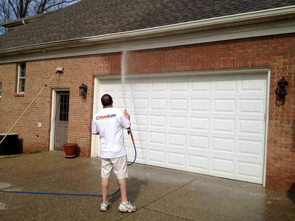 Brick Home Soft Washing in Louisville KY