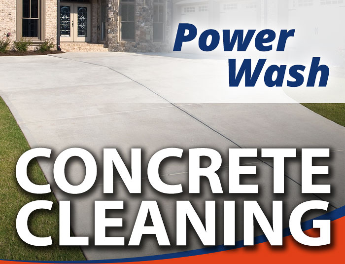 Concrete Driveway Power Washing in Louisville KY