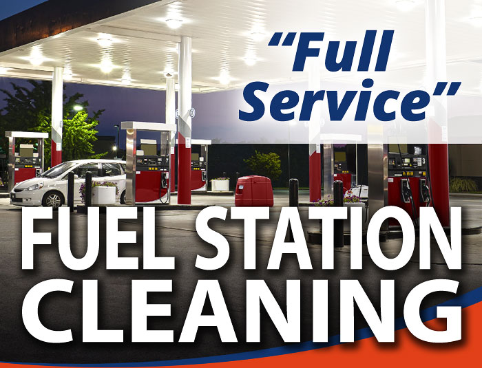 Gas Station Pressure Cleaning in Louisville KY