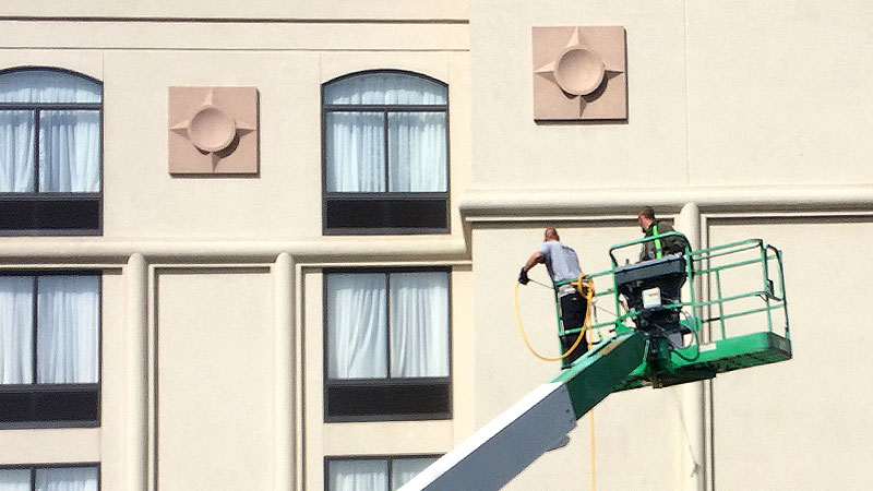 Apartments Soft Pressure Washing in Louisville KY