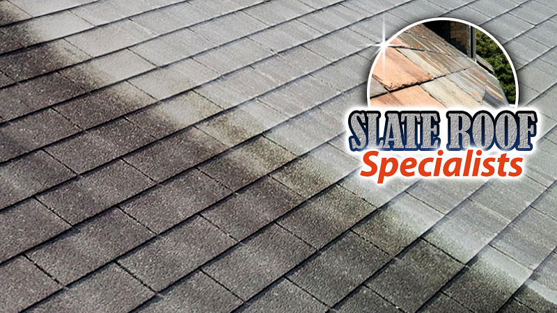 Soft Wash Roof Cleaning Slate Roof Washing in Louisville KY