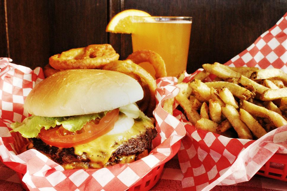 Burger wFries