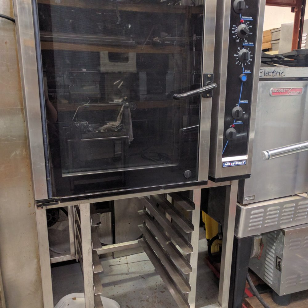 full view Used Turbofan Convection Oven E35
