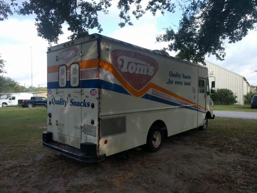 back side view NEW ARRIVAL Food Truck- Built to Suit
