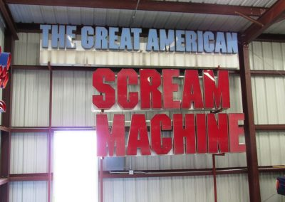 Artifacts The Great American Scream Machine