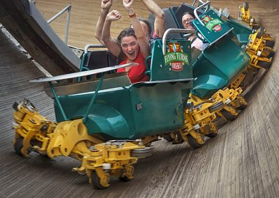 Knoebels Opens Flying Front of Car