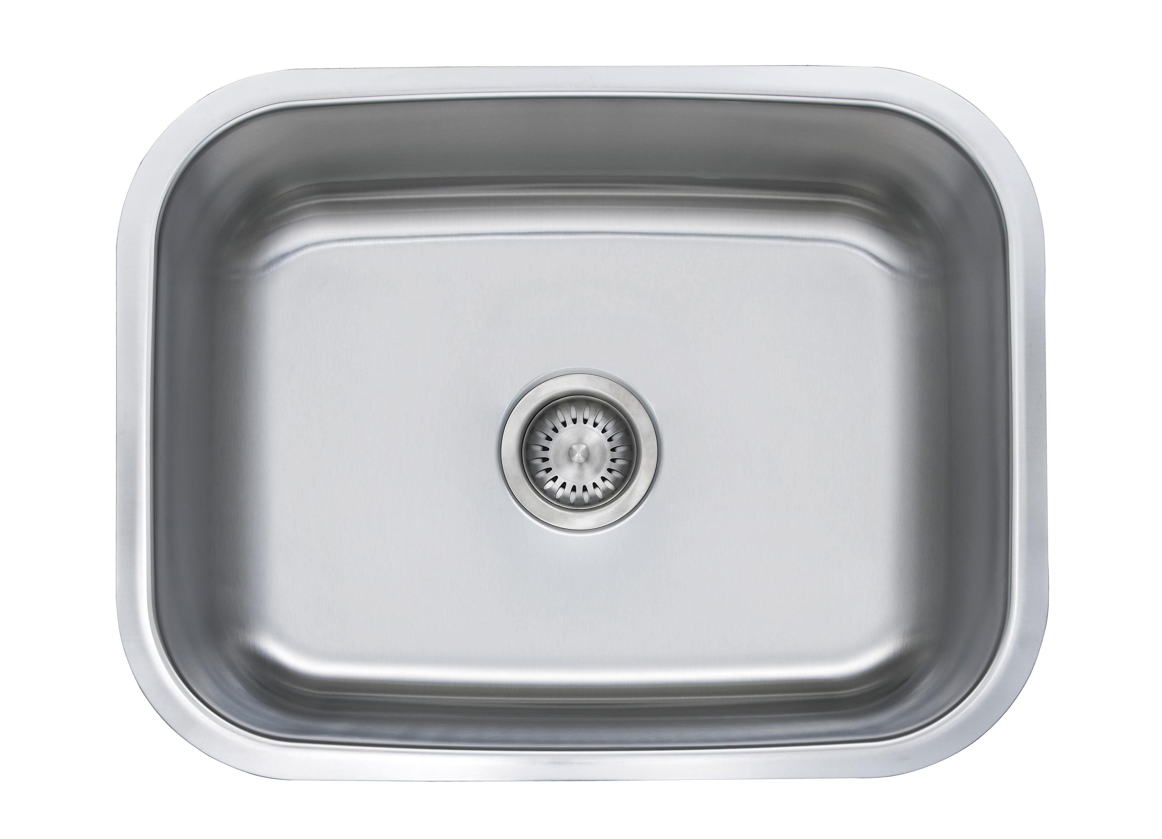 Decora 18 Gauge Single Bowl Sinks