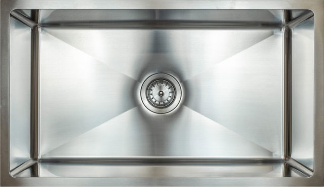 "Evolution 9"" Deep 304 Stainless Steel  Small Radius Sinks"