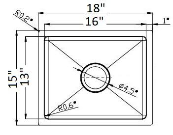 EVO1815 Line Drawing