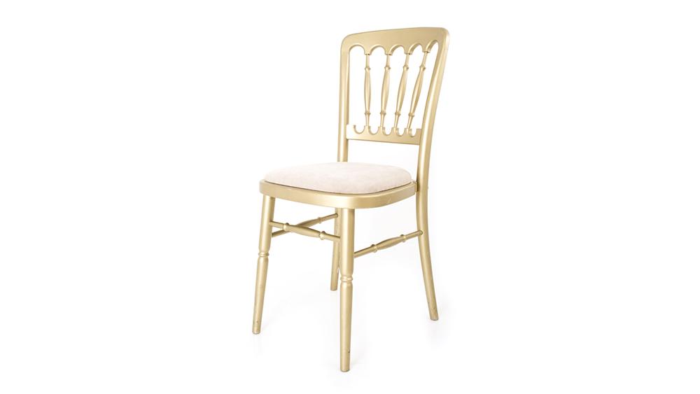 gold cheltenham chair