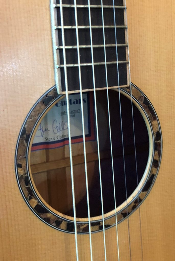 Old Wood guitar
