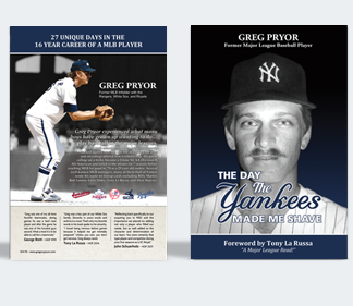 Greg Pryor's new book, The Day The Yankees Made Me Shave