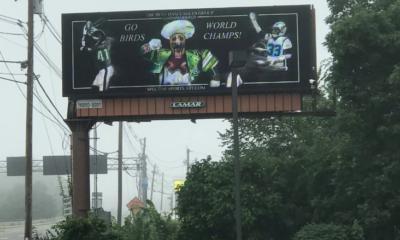 eagles billboard ad