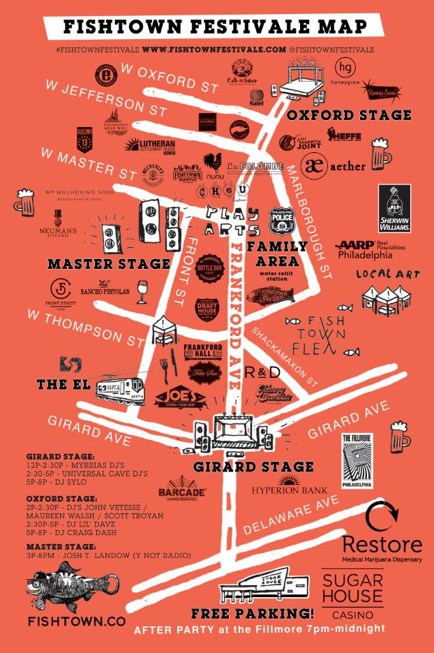 fishtown FestiVALE map