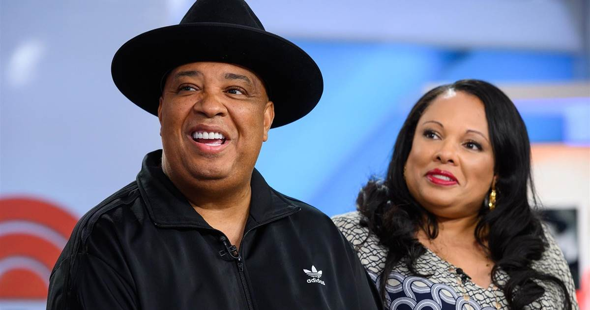 """Joseph """"Rev Run"""" Simmons and Justine Simmons 