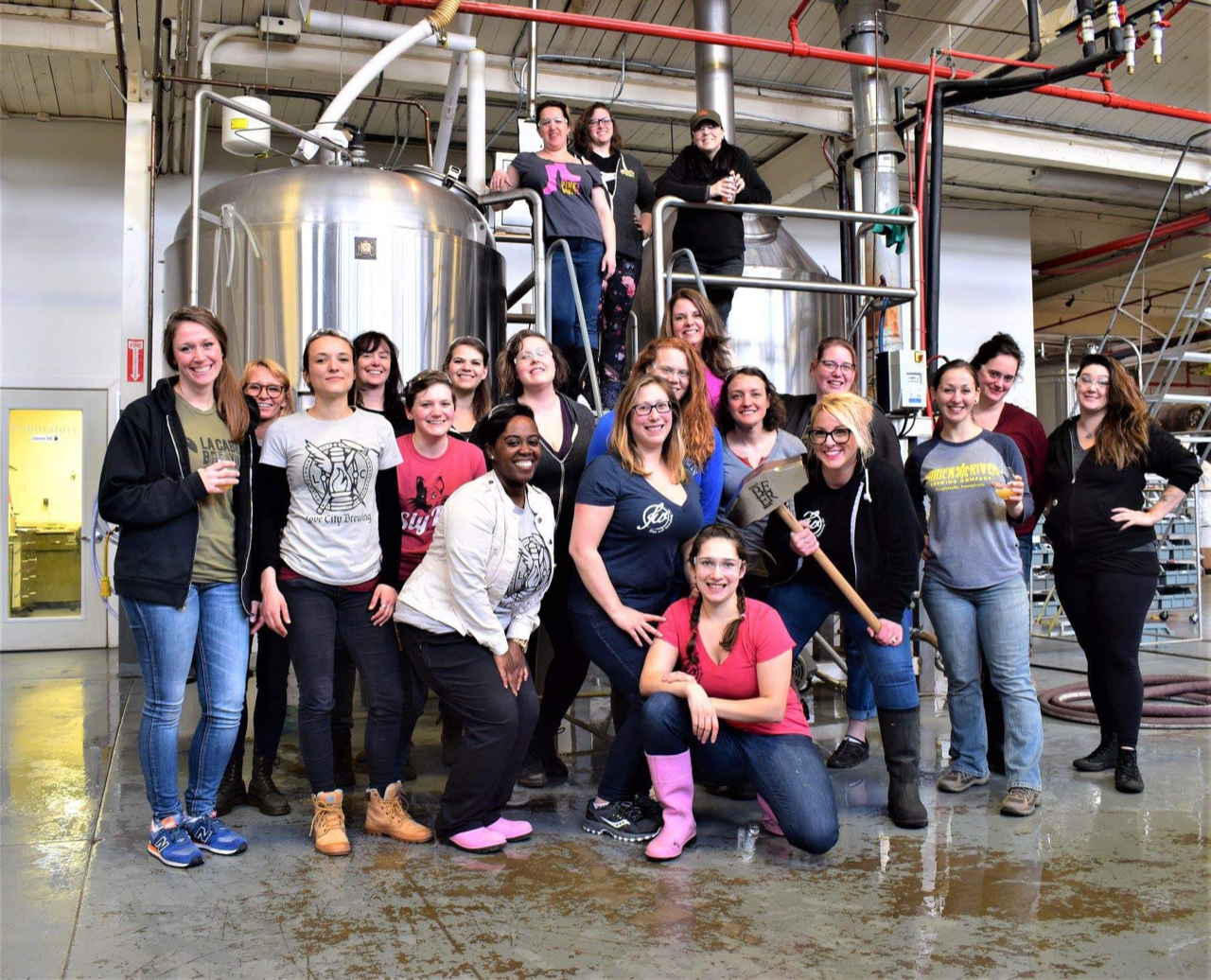Bold Women and Beer Brew Day