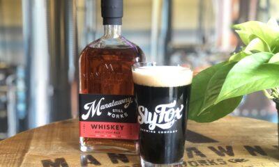 whiskey beer