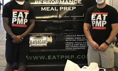 Jalen Mills delivers meals