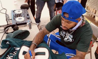 DeSean Jackson autograph