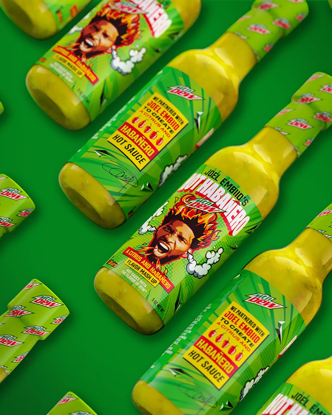joel-embiid-mountain-dew-hot-sauce