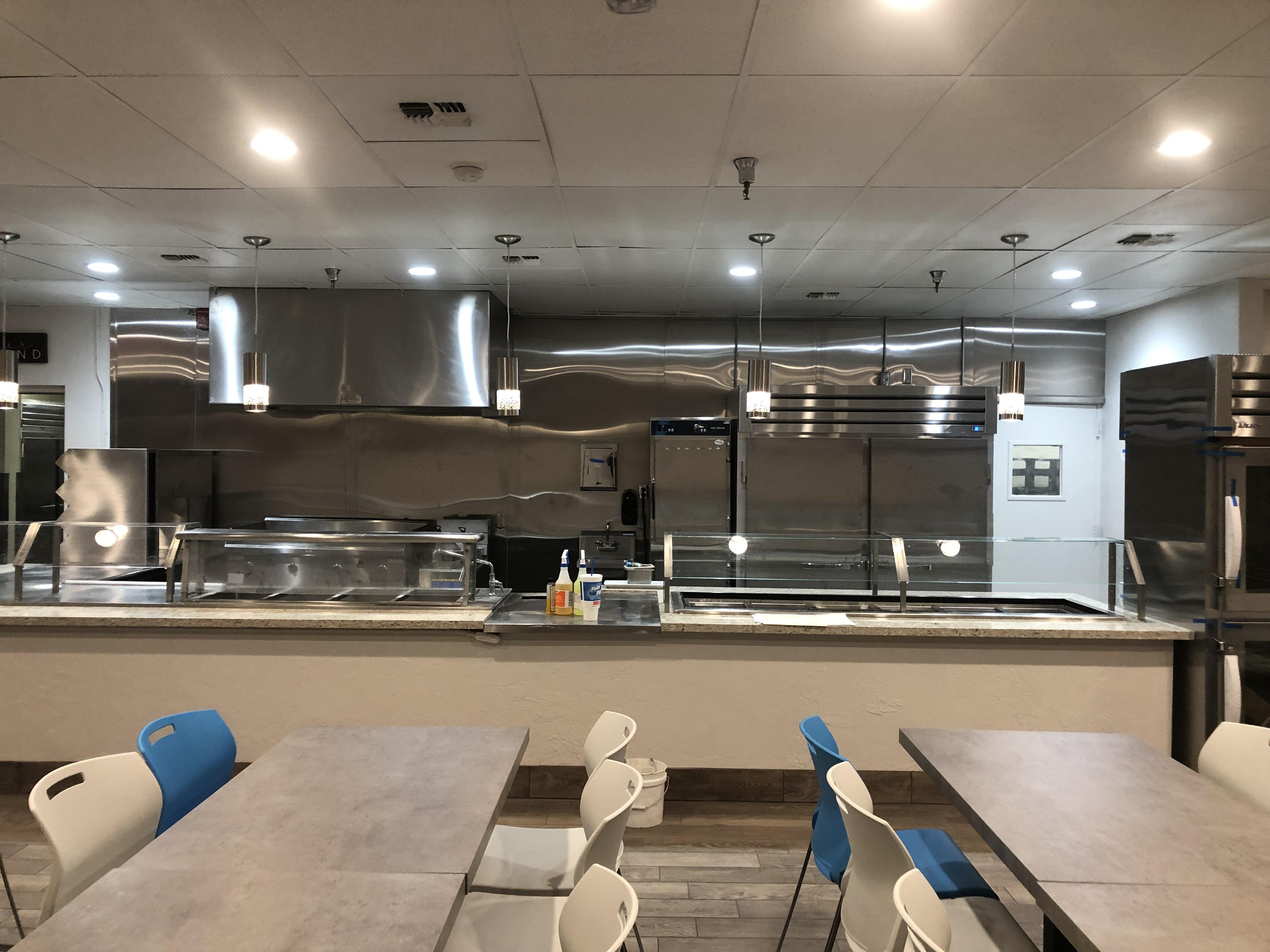 Marriott Camelback Inn Cafeteria Install