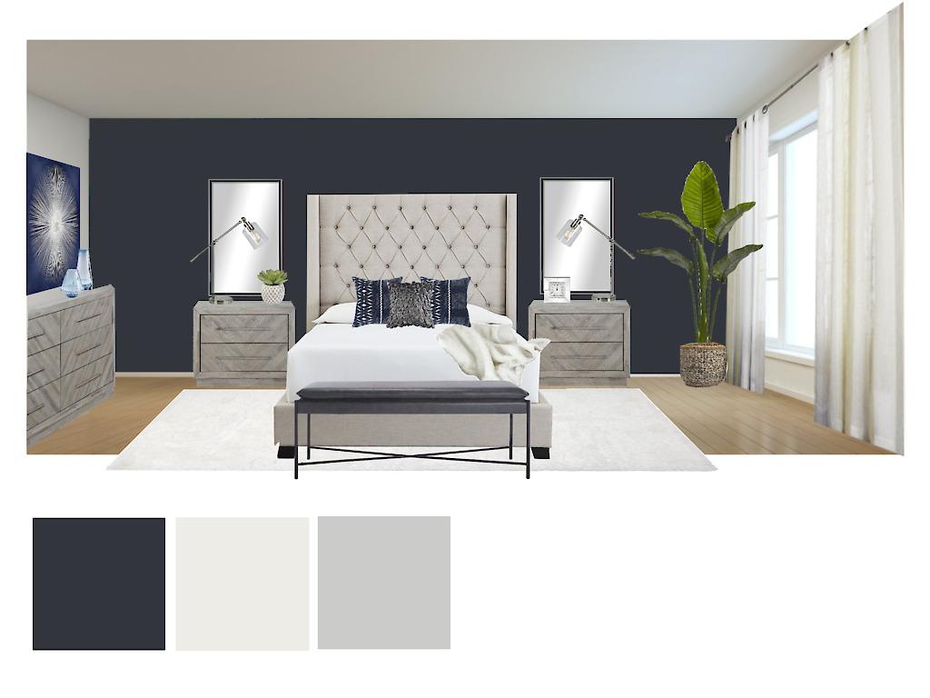 interior styling 3D E-design sample