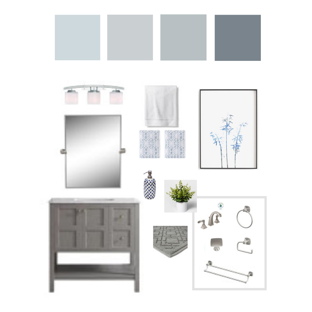 interior styling Edesign mood board sample