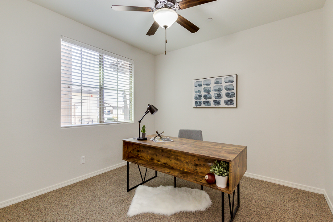 office staged