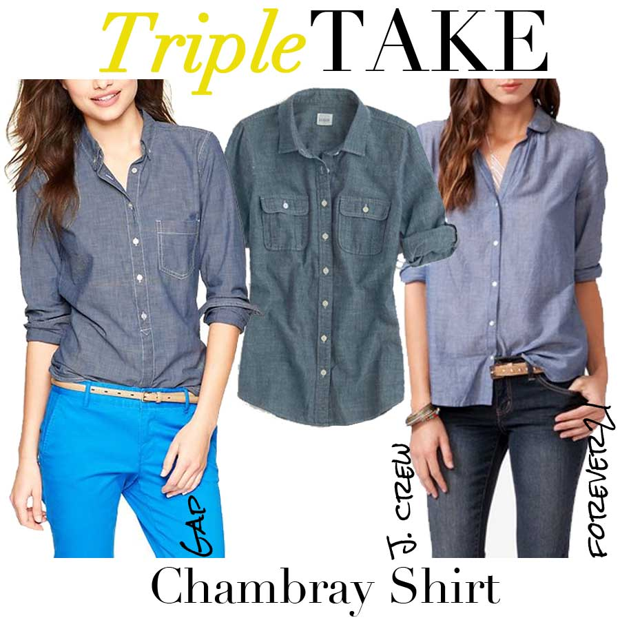 Triple Take Chambray Shirt