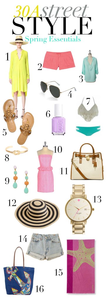 30A Street Style StyleGuide Spring Essentials