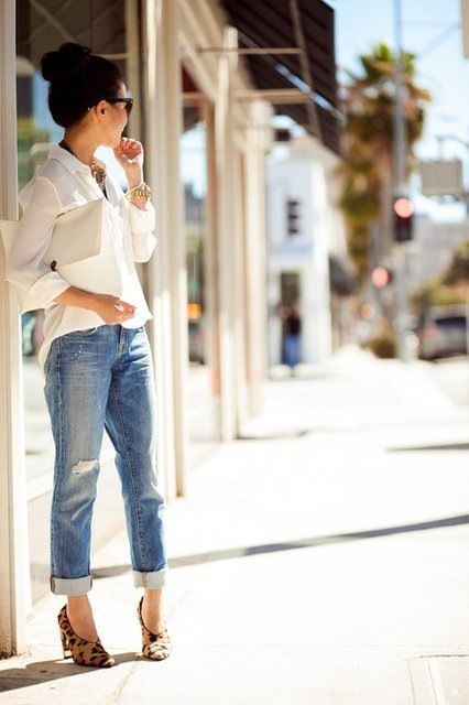 boyfriend-jeans-with-blouse