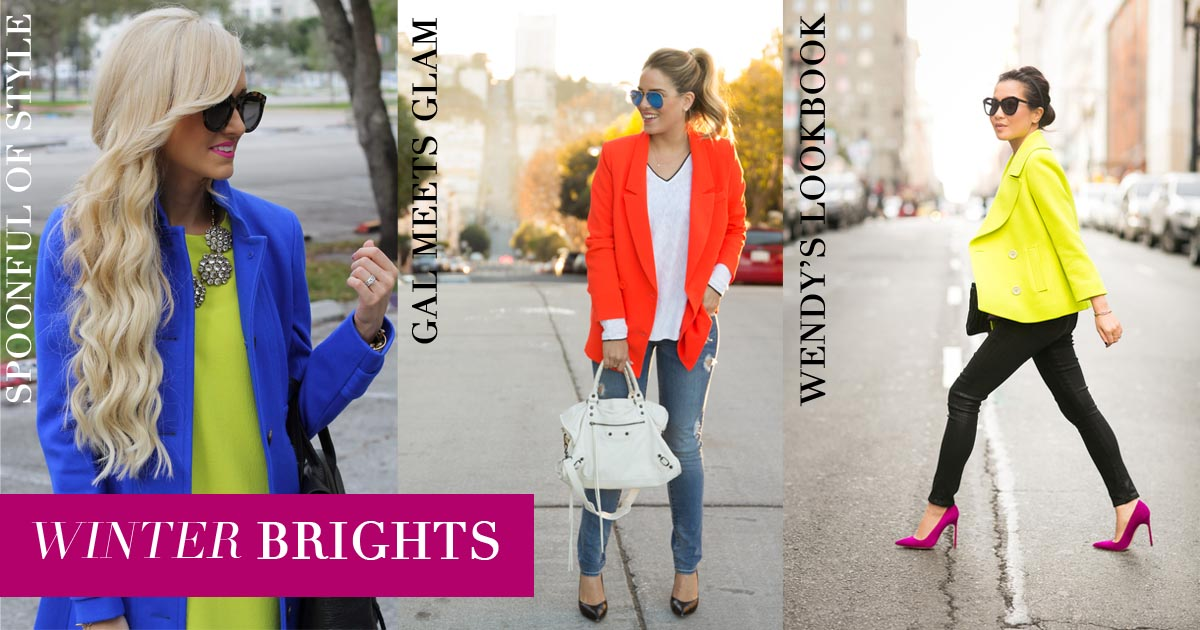 Winter Brights on 30A Street Style