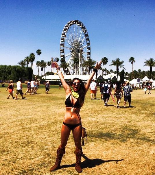 Tiffany Clemons at Coachella - Songs of Summer