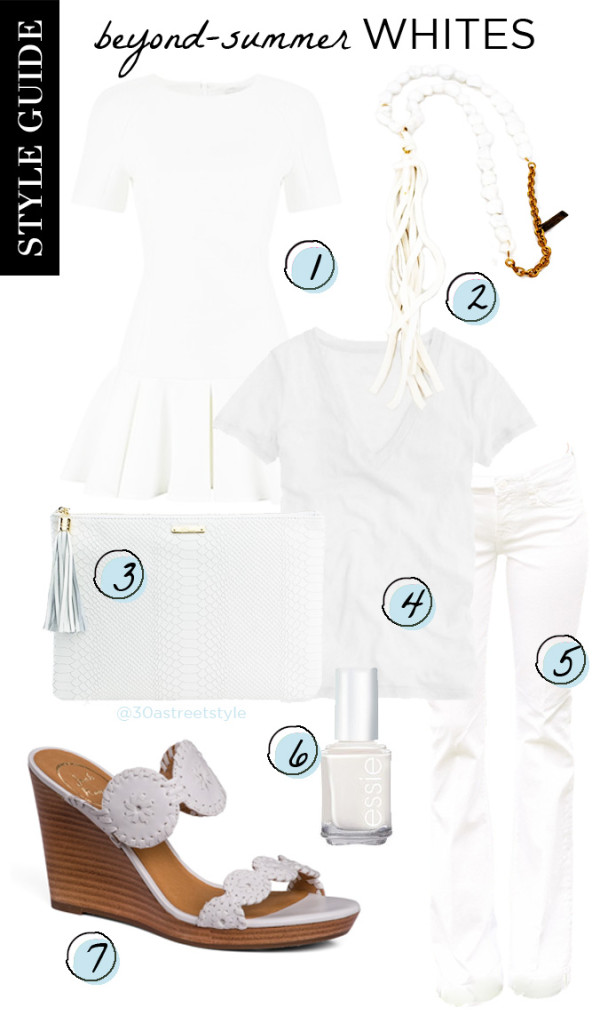 Style Guide - Beyond Summer Whites