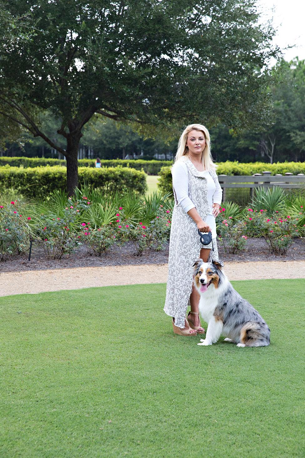 Meredith Sullivan 30A Street Style Dogs