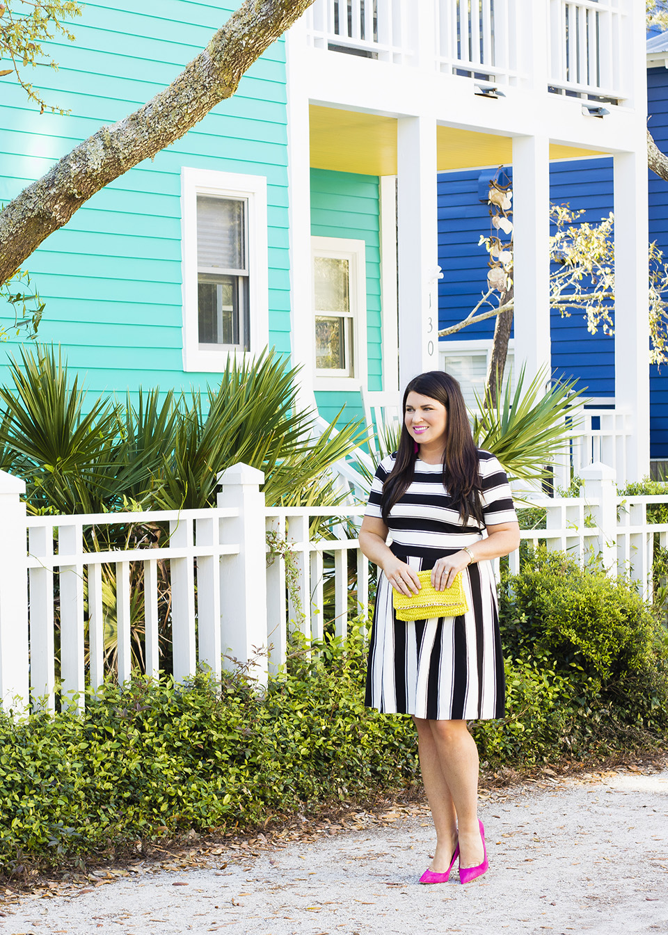 BW Ladylike Stripes 30A Street Style 2