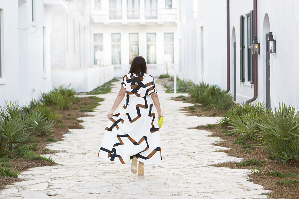 Jami Ray 30A Style Digital Graffiti Dress Alys Beach 5 W