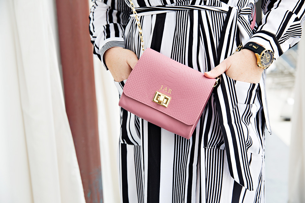30A Street Style Jami Ray The Pearl Rosemary Beach Black and White Stripes 10