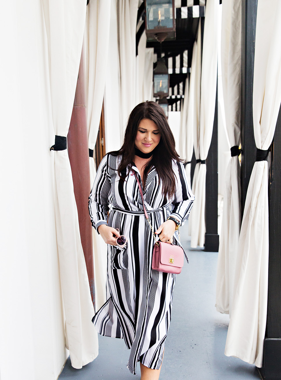 30A Street Style Jami Ray The Pearl Rosemary Beach Black and White Stripes 18