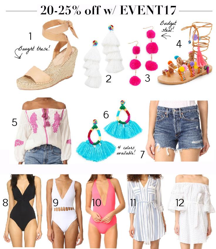 Spring Favorites on Sale - tassel Earrings Loeffler Randall and more | Shopbop Sale