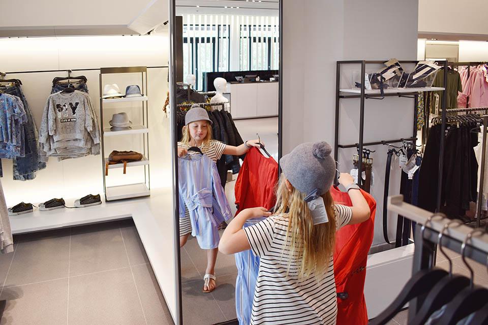 Disney Springs Back to School - Shopping at Zara