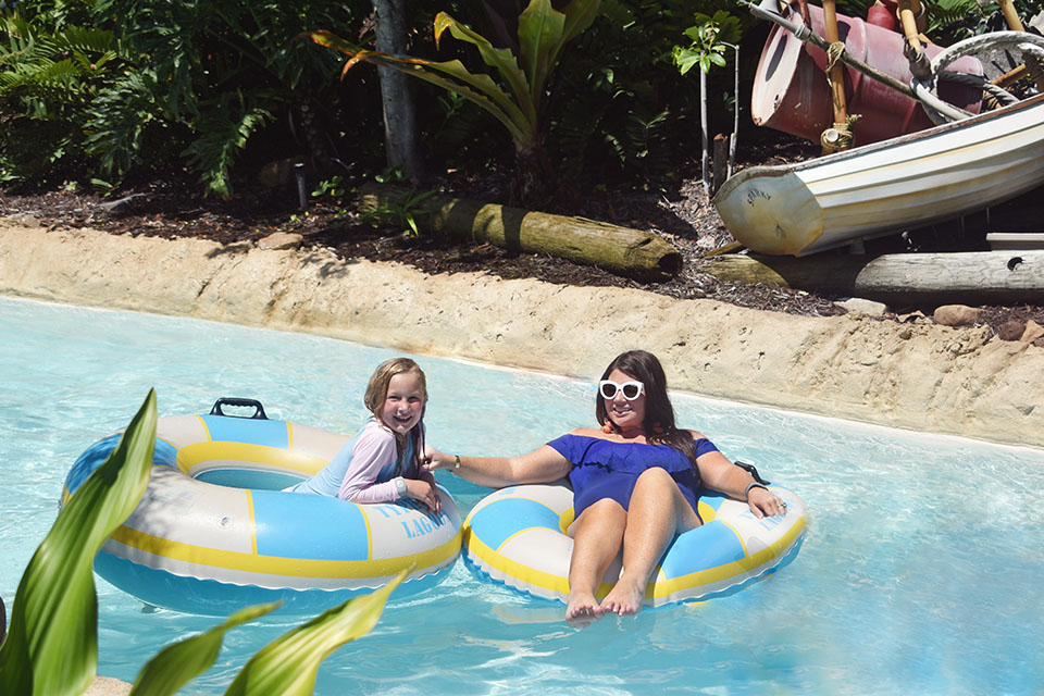 Disney Springs Back to School - Typhoon Lagoon Lazy River