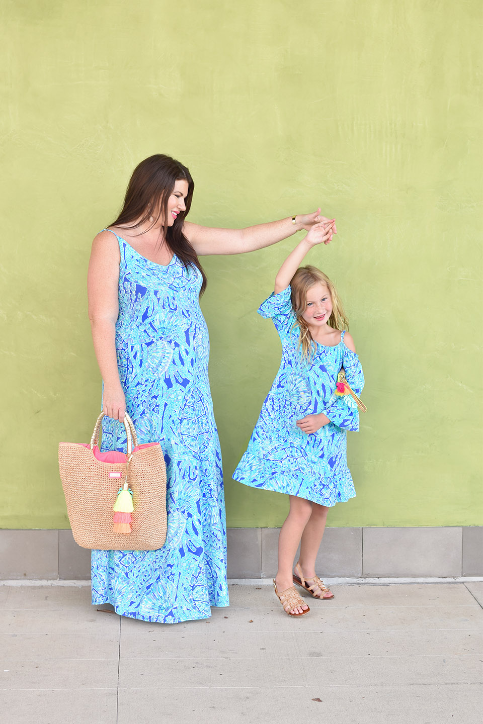 Jami Ray Grand Boulevard Lilly Pulitzer Allair Maxi Dress Mommy and Me