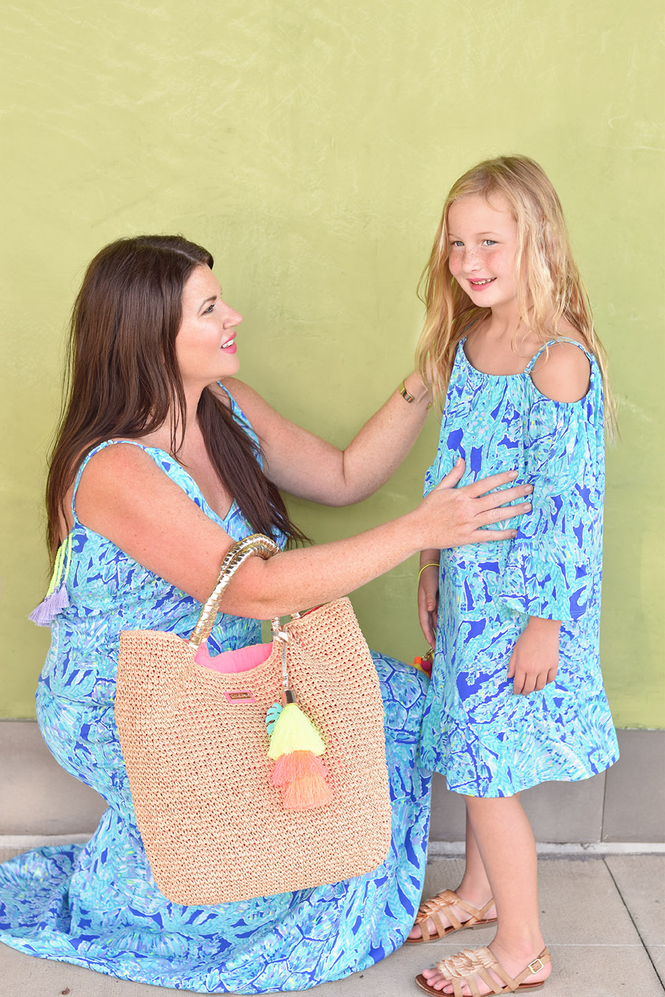Jami Ray Grand Boulevard Lilly Pulitzer Allair Print Maxi Dress Mommy and Me