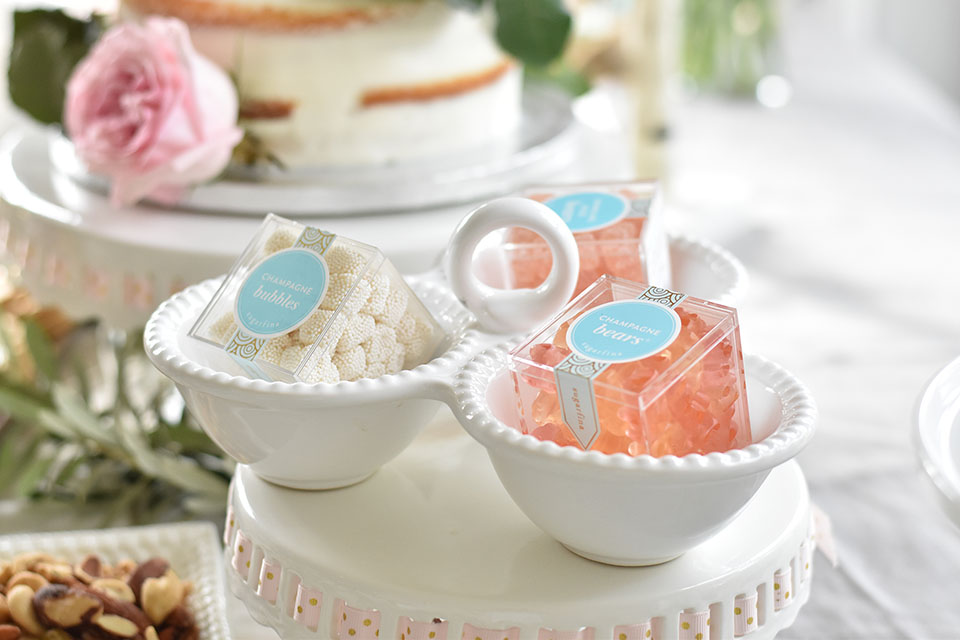 Baby Shower for Collins Eliza Sugarfina Champagne Gummy Bears