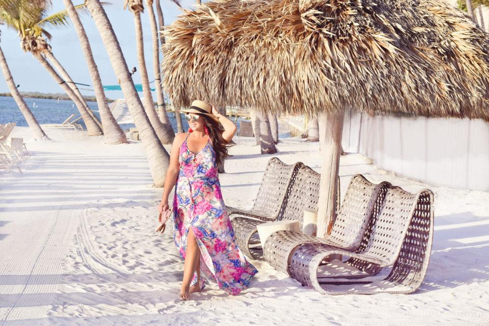 Amara Cay Resort Islamorada - Ripcurl Floral Maxi - The Keys Style