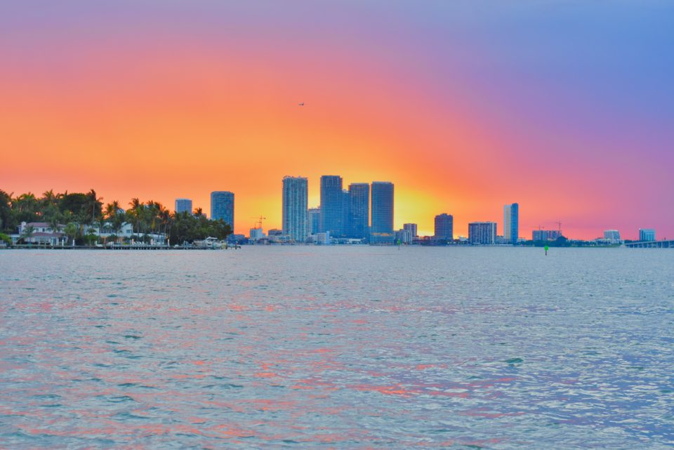 Miami Sunset from The Standard - 30A Mama