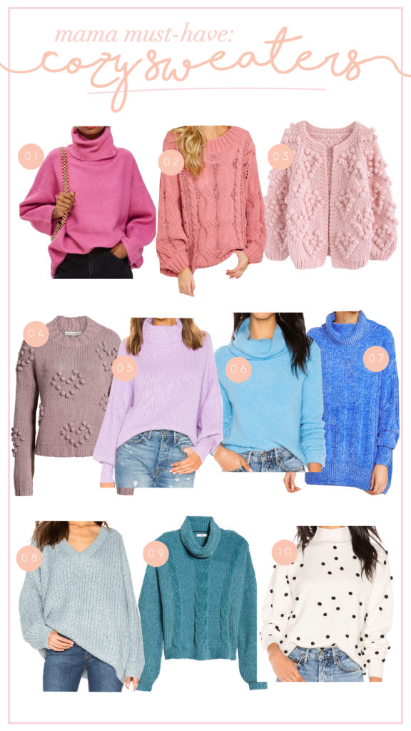 30A Mama Must Haves Cozy Sweater Edition
