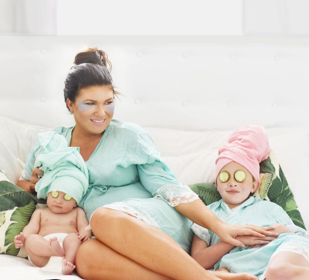 Family Girls Spa Day